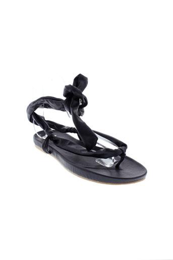 moloko chaussures femme de couleur noir
