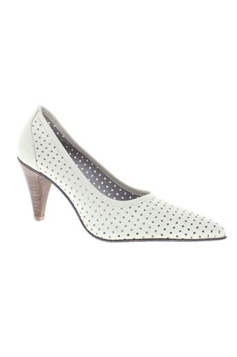 alicia kapri chaussures femme de couleur beige