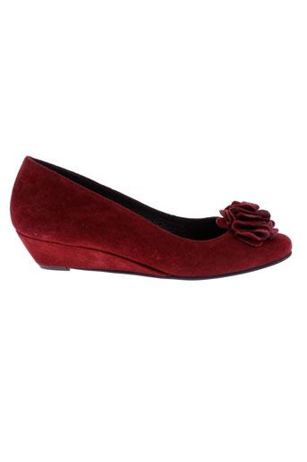 alicia kapri chaussures femme de couleur rouge