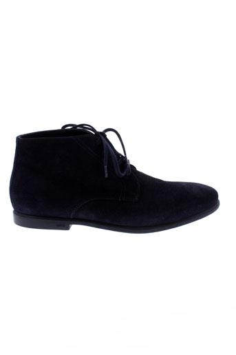 kenzo boots homme de couleur bleu