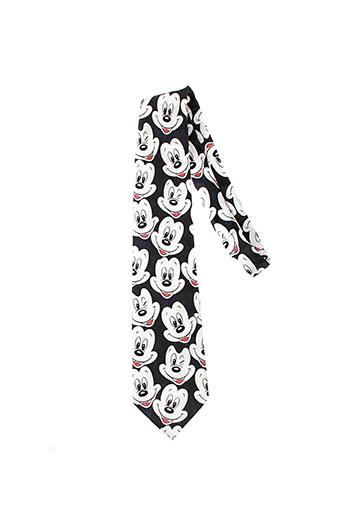 disney cravates homme de couleur noir