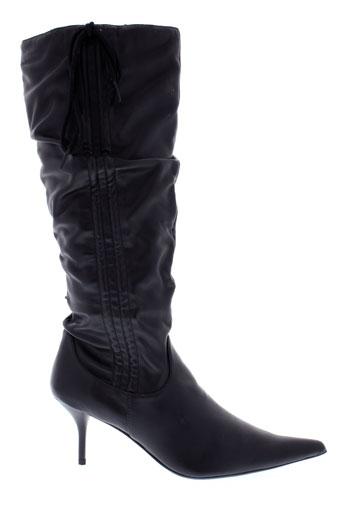 elite bottes femme de couleur noir