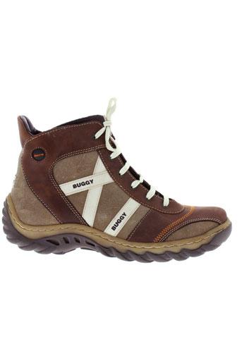 buggy boots homme de couleur marron