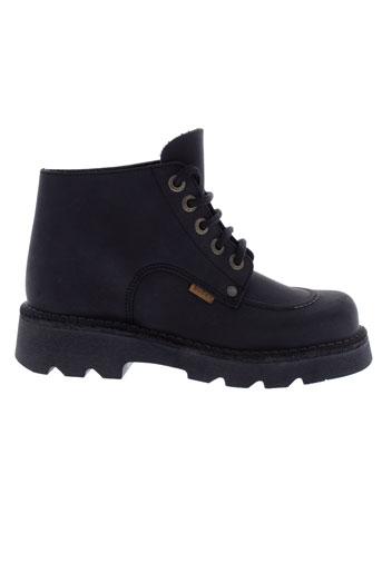 buggy boots garcon de couleur noir