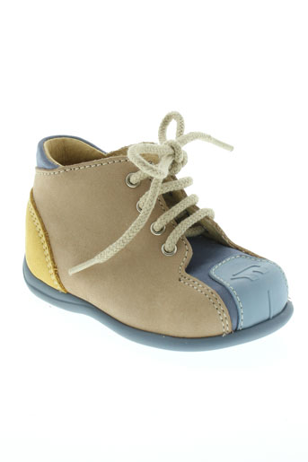 bellamy chaussures enfant de couleur beige