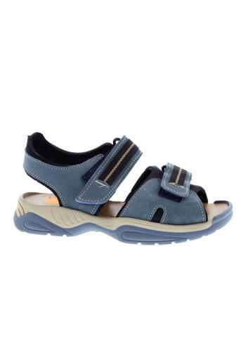 zapper et s sandales et nu et pieds garcon de couleur bleu