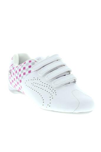 bopy baskets fille de couleur blanc