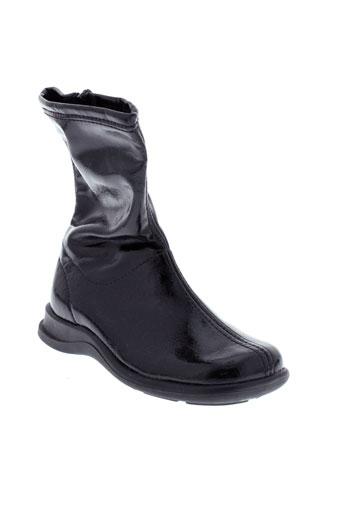 zapper et s boots fille de couleur noir