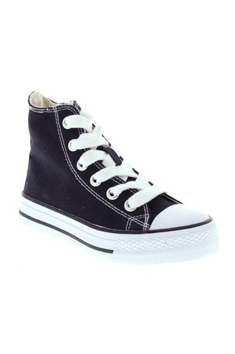 buggy chaussures enfant de couleur noir