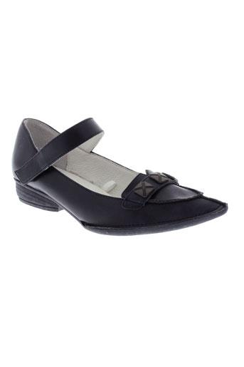 iro iko chaussures femme de couleur noir