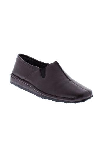 ashby chaussures femme de couleur marron