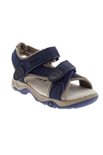 buggy sandales et nu et pieds garcon de couleur bleu