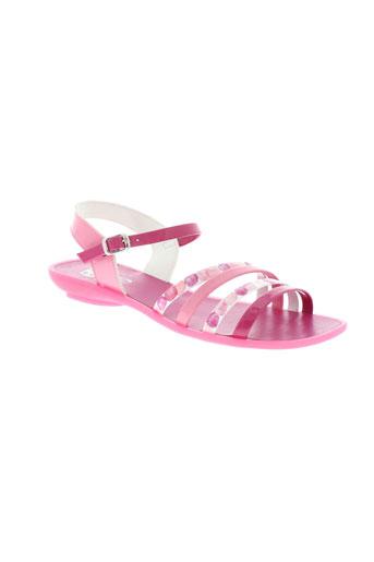 zapper et s sandales et nu et pieds femme de couleur rose