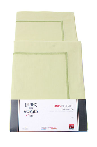blanc des vosges accessoires unisexe de couleur vert