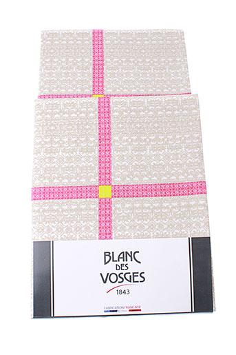 blanc des vosges accessoires unisexe de couleur rose