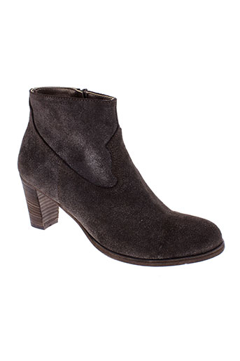 nimal boots femme de couleur marron