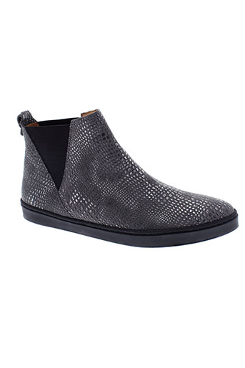 lsq boots femme de couleur gris