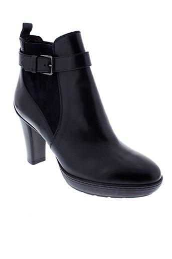 triver et flight boots femme de couleur noir