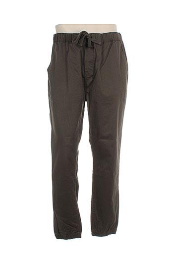 minimum pantalons et decontractes homme de couleur vert