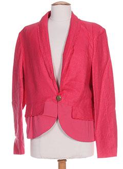 Veste casual rose HELENA SOREL pour femme