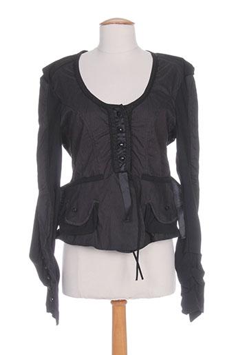 garancia chemises femme de couleur noir