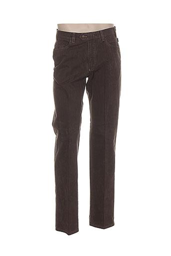 brühl pantalons homme de couleur marron