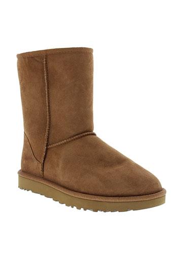 ugg boots femme de couleur marron