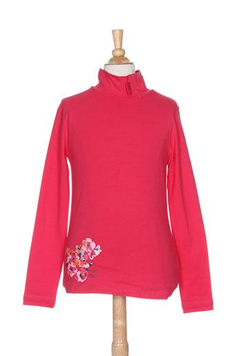 tuc tuc t-shirts fille de couleur rose