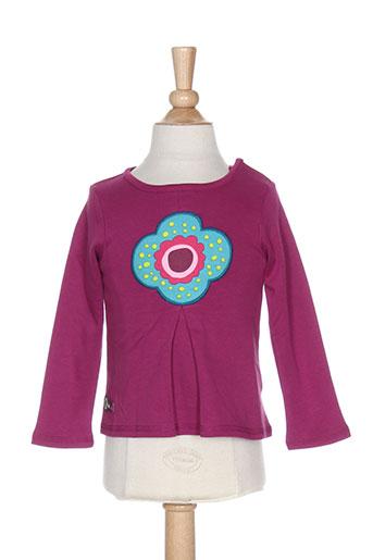 tuc tuc t-shirts fille de couleur violet