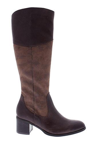 fugitive bottes femme de couleur marron