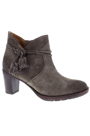 palladium boots femme de couleur gris