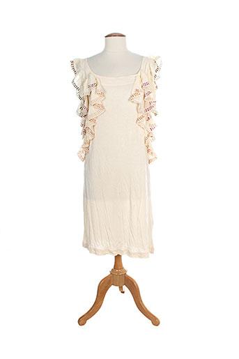 miss sixty robes femme de couleur beige