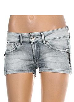 Produit-Shorts / Bermudas-Femme-PEPE JEANS