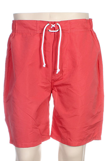 acqua et rossa short homme de couleur orange