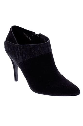 elle boots femme de couleur noir