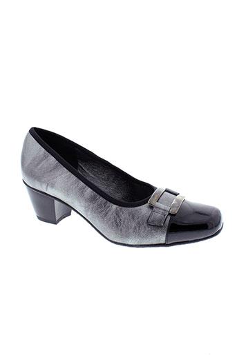 inea escarpins femme de couleur gris