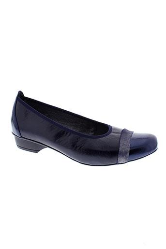 inea escarpins femme de couleur bleu