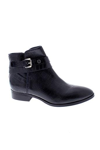 stressless boots femme de couleur bleu