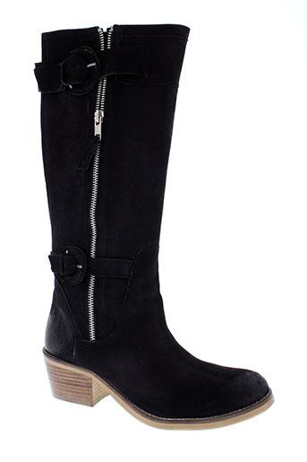 inea bottes femme de couleur noir