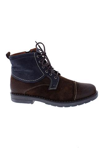maxcess chaussures homme de couleur bleu