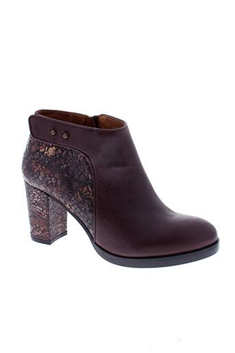 libre et comme et l et air boots femme de couleur rouge