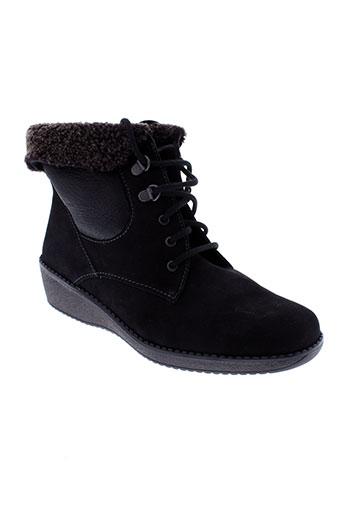 solidus boots femme de couleur noir