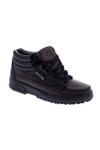 mephisto boots femme de couleur marron