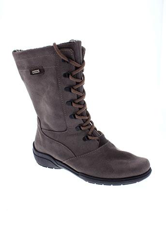 rohde boots femme de couleur marron