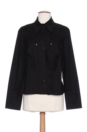 zn jeans chemises femme de couleur noir