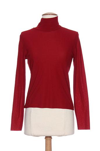 aldo martin's chemises femme de couleur rouge