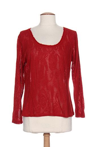 lo! les filles chemises femme de couleur rouge