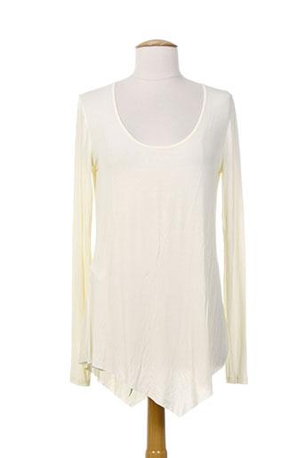isabel de pedro tuniques femme de couleur beige
