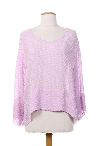 grizas chemises femme de couleur rose