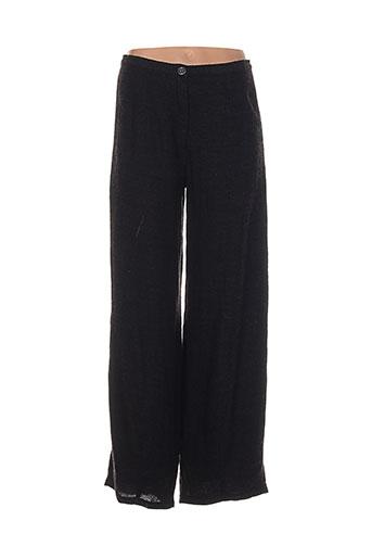 heteroclite pantalons femme de couleur noir